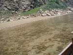 Clear waterway