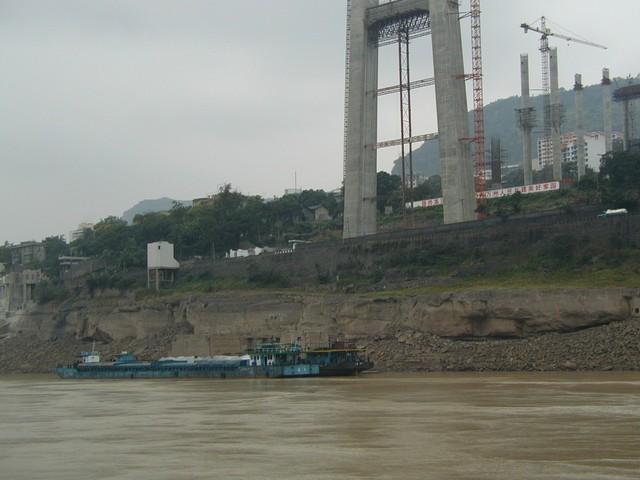 Rusty barge