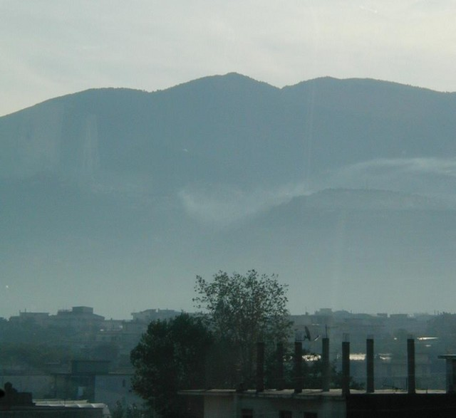 Mountains around Naples