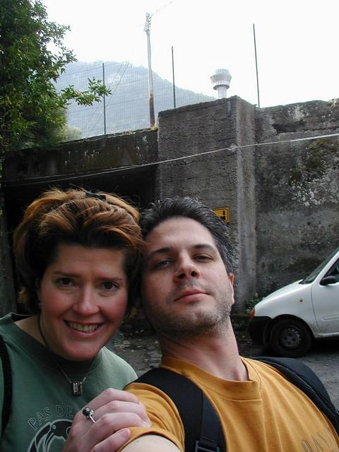 Ren and Joe - self portrait in Sorrento