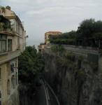 Step roads in Sorrento