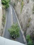 mini park in roadway