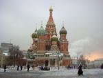 St Basilius in winter
