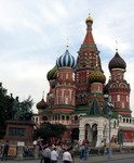 St Basil domes from Red Square