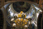 chandelier in cupola