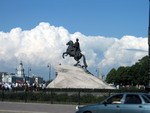 Bronze Horseman Monument to Peter the Great