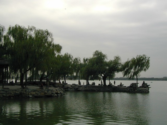 Romantic stop near the dragon boat docks