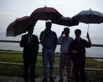 rainy day near taipei