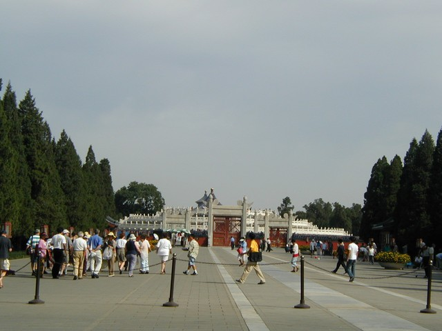 Long promenade at Temple of Heaven