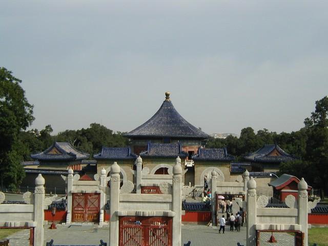 Several gates on promenade
