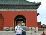 Ren and Jenny Liu our Beijing tour guide