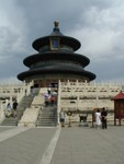 Temple of Heaven in the clouds