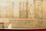 10-Jan-1927 plan for reconstruction of Amiens House - detail