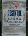 Blanche de Fougerolles - 20cl label