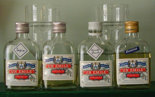 Un Emile four flask sampler