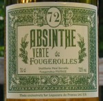 Verte de Fougerolles - 70cl front label