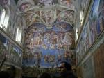 3 walls of frescos