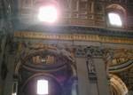 Basilica shifting lights on mosaics
