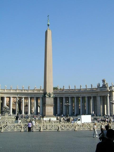 Obelisk at Piazza San Pietro