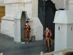 Swiss Army Guards at Vatican