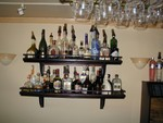 White Rainbow armagnac cognac etc shelves