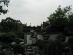 Fun rock garden