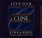 Cline - 1999 Live Oak Zin