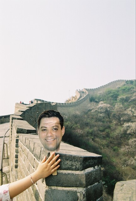 Dgold does the Great Wall near Beijing