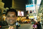 dgold in Hong Kong times square