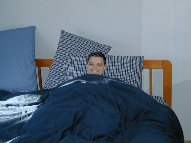Dan Golding lounging in Southborough