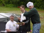 three stooges cook up a meal