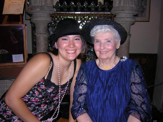 Cousin Lisa and Grandma Vickie