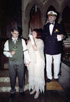 Dad is toasting the Newlyweds