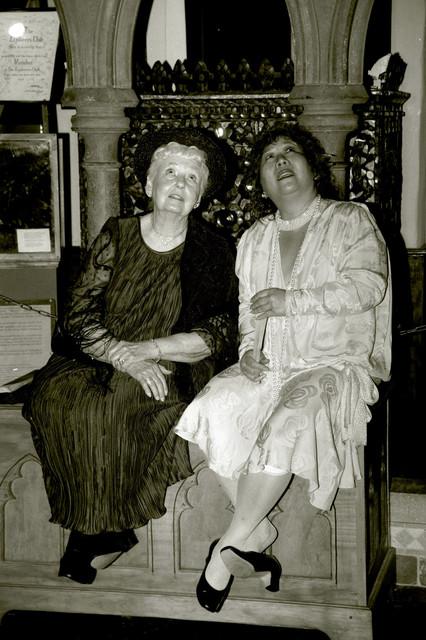 Grandma Vickie and Aunt Georgia