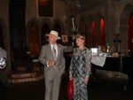 Tom and Nancy Brehm in the Great Hall