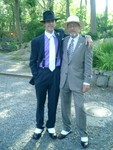 Spike and Tom with spats showing