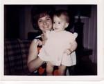 Susan holding Ren