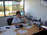 Ren in her ONYX office