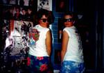 Lauren and Terri in Jen's Duran Duran room