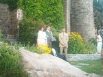 Ren Joe and ET during vows