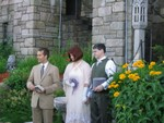 Towards the end of the vows