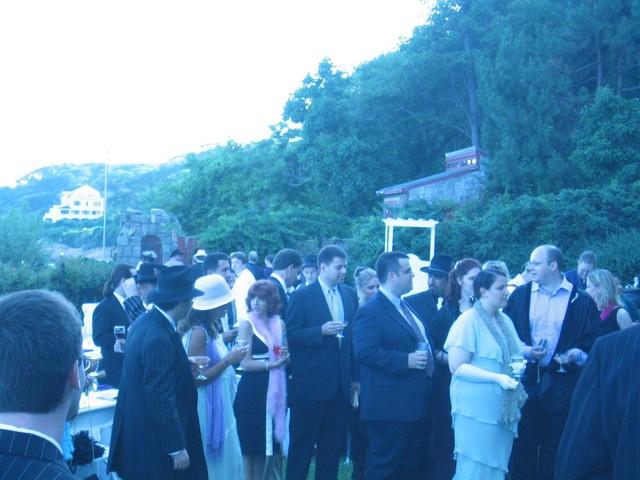 PSU Crew gathering for the ceremony