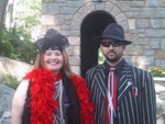 Allison Feese and Michael Strickland