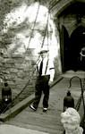 Bill Norton at the drawbridge