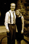 Eric and Sarah Bell - in sepia