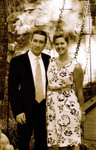 John and Nancy - in sepia
