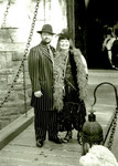 Michael and Allison at the drawbridge