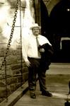 Rob Seastrom at the drawbridge