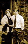 Sue and Jim Sibley - in sepia
