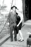 Vinny and Judy at the drawbridge